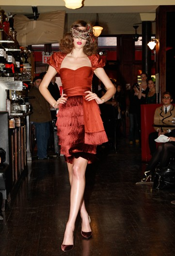 Zac Posen pre-fall 2009 collection