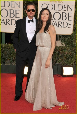 Angelina Jolie in another shapeless gown