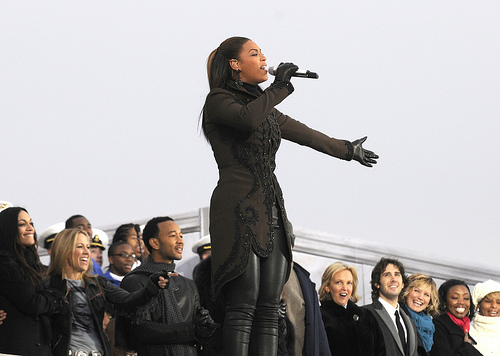"""Beyonce at the """"We are One"""" in Washington"""