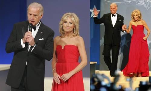 Vice President Joseph Biden and wife Jill Biden at the Neighborhood Inaugural Ball