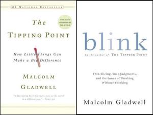 Malcolm Gladwell's The Tipping Point ($9.34 online) and Blink ($9.99 online)