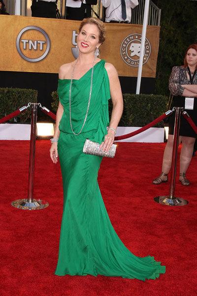 Christina Applegate wears Emanuel Ungaro