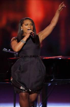 Alicia Keys performs at the Neighbourhood Inaugural Ball 2009