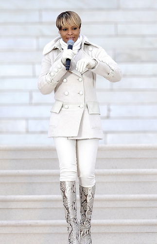 """Mary J Blige at the """"We are One"""" in Washington"""