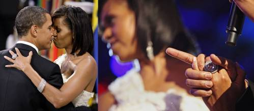 First Lady Michelle Obama's bling
