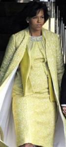 Michelle Obama wears Isabel Toledo