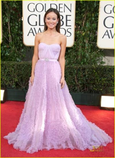 Olivia Wilde wears Reem Acra. Yay or Nay?