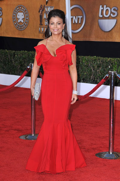 Yay or Nay to Paula Abdul's red hot look?