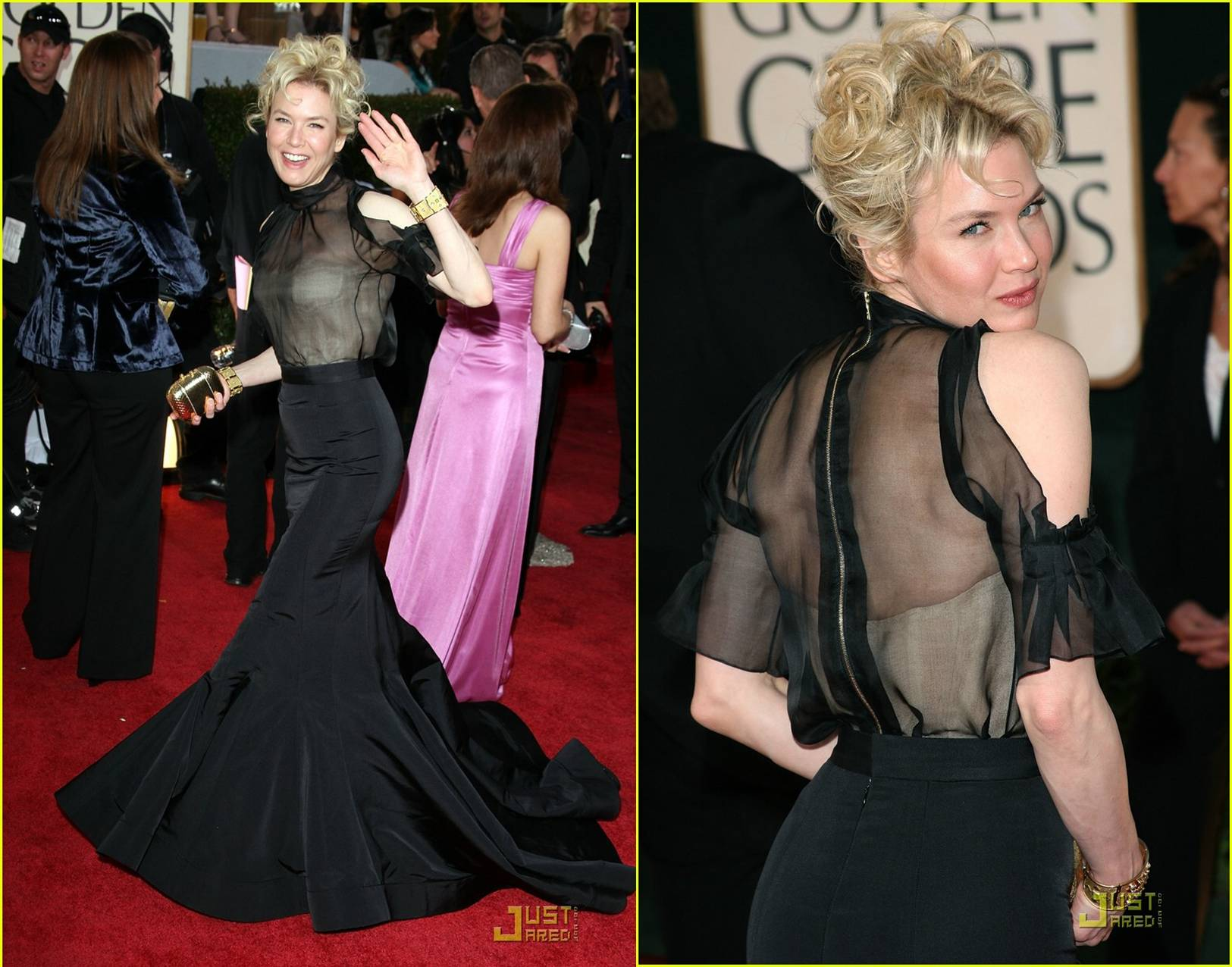 renee zellweger golden globes 2009
