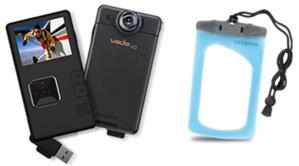 Pocket video camera Creative Vado HD $229.99, Waterproof pouch $29.99