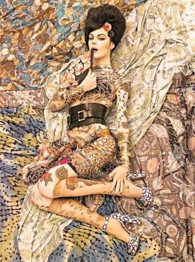 Vogue Italia December 2007