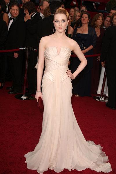 Evan Rachel Wood wears Elie Saab