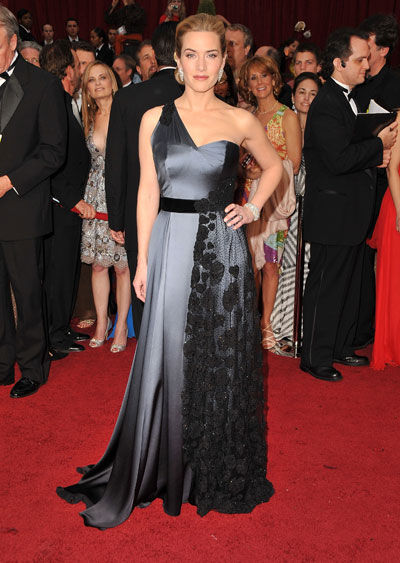 Kate Winslet wears Yves Saint Laurent