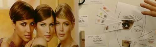 """L'Oreal Paris """"night look"""" colour story spring/summer 09"""