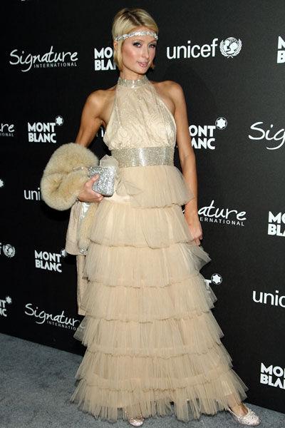 Yay or Nay: Paris Hilton wears Julia Clancey