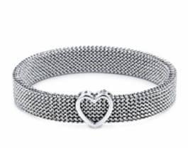 Tiffany & Co Summerset reversible bracelet in stainless steel $325