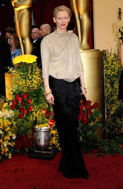 Tilda Swinton wears Lanvin