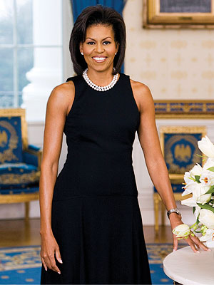 Michelle Obama wears Michael Kors for the Official White House Portrait