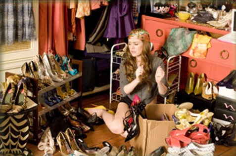 Louboutins in her closet? Yes, many.