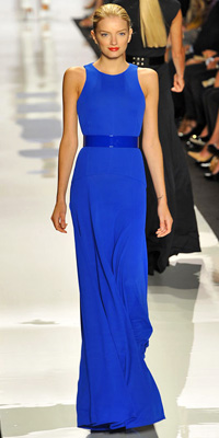Michael Kors' dress for spring 09, worn in black by Michelle Obama, top