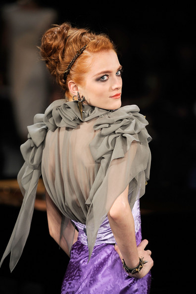 Zac Posen fall/winter 09 collection at Mercedes-Benz Fashion Week