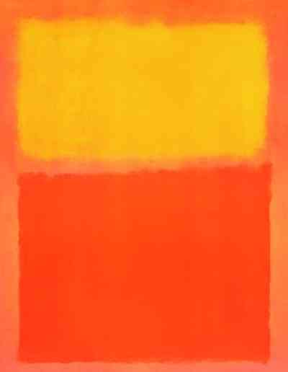 "Mark Rothko ""Orange and Yellow"" 1956 poster $35"