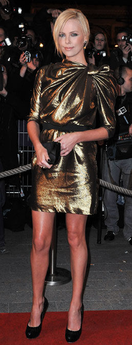 Yay or Nay: Charlize Theron wears Lanvin