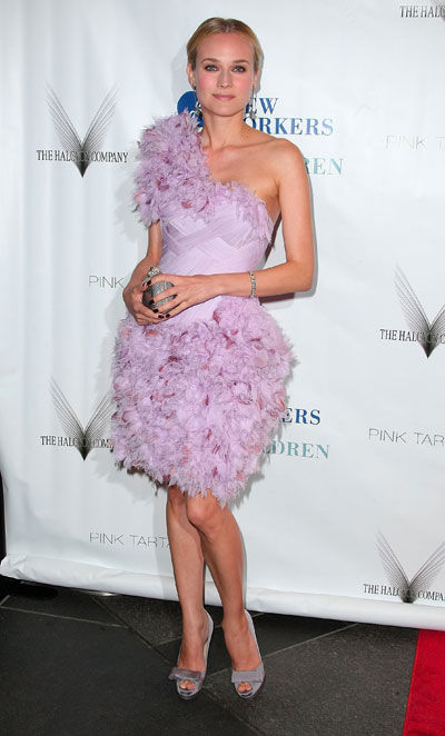 Yay or Nay: Diane Kruger wears Marchesa
