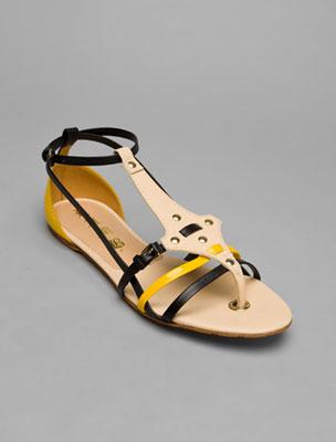 LAMB strappy flat sandal, $225