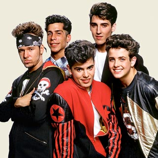 The New Kids on The Block, way back when they were a credible band