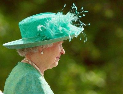 Queen of hats.