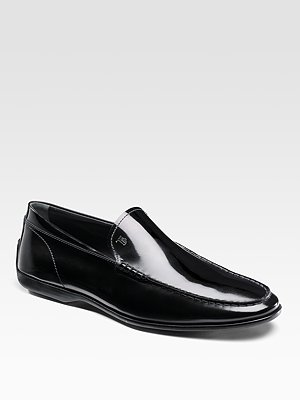 Tod's Leather Loafers, $495