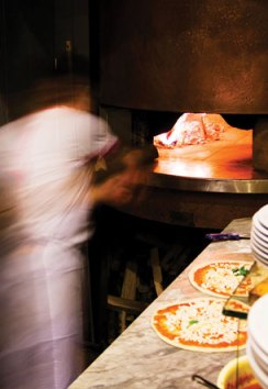 Oven-baked Pizza at The Grand