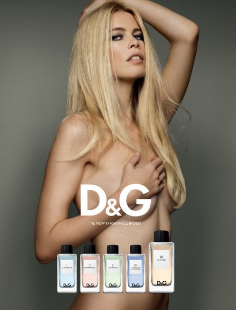 The D&G Fragrance Anthology featuring Claudia Schiffer as La Lune