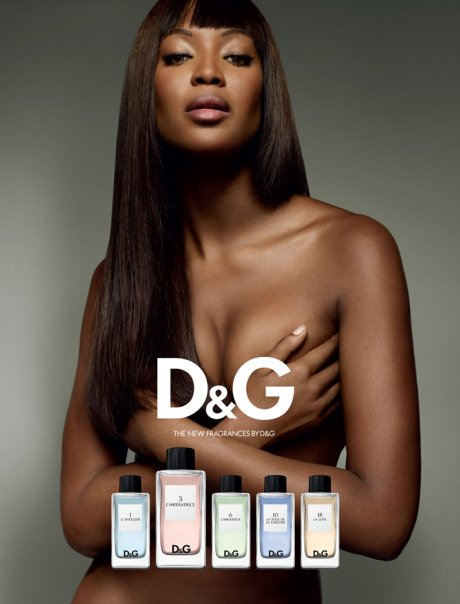 The D&G Anthology featuring Naomi Campbell as L'Imperatrice