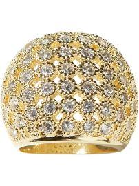Crystal Lattice ring, $49 at Banana Republic