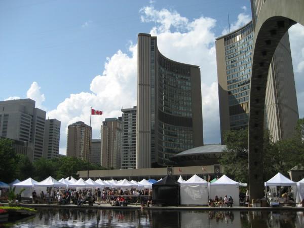Toronto Outdoor Art Exhibition: a creative feast