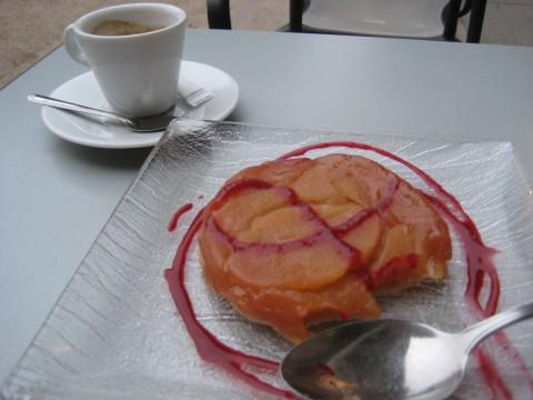 French tarte. Yum!