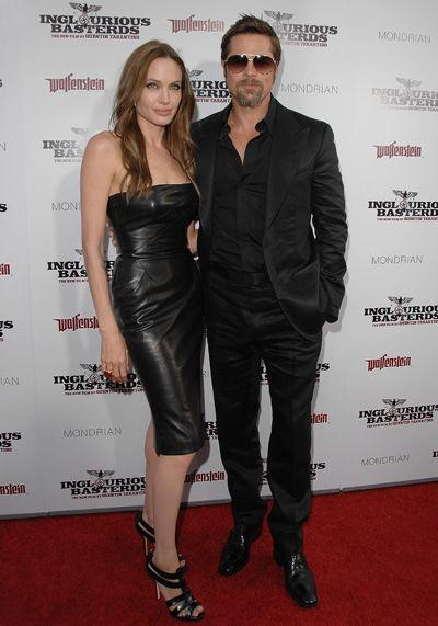 Angelina Jolie wears