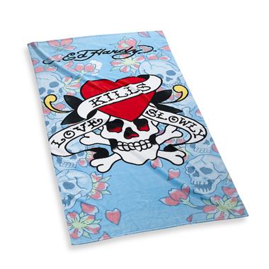Ed Hardy Cherry  Blossom beach towel, $39.99