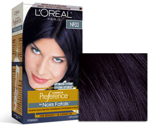 L'Oreal Superior Preference in Deepest Plum, prices vary
