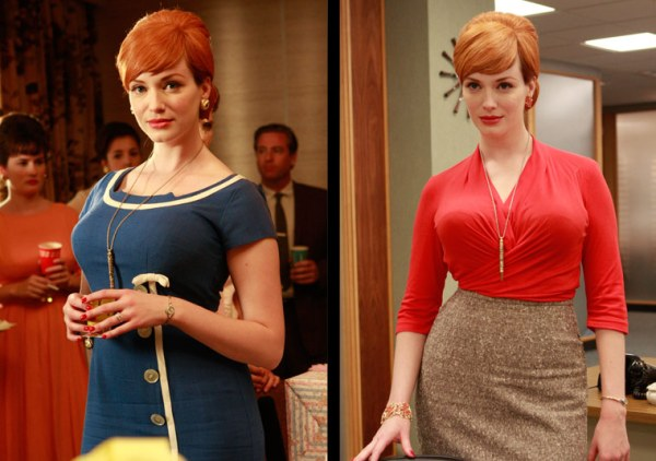 Joan Holloway's red lips are classic
