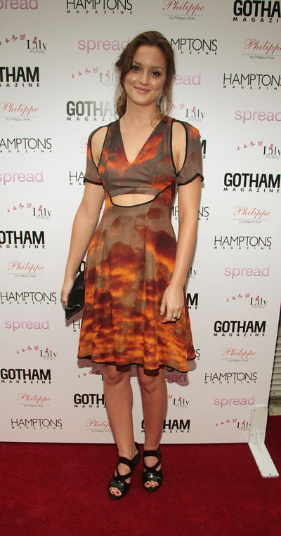 Yay or Nay: Leighton Meester wears Christopher Kane