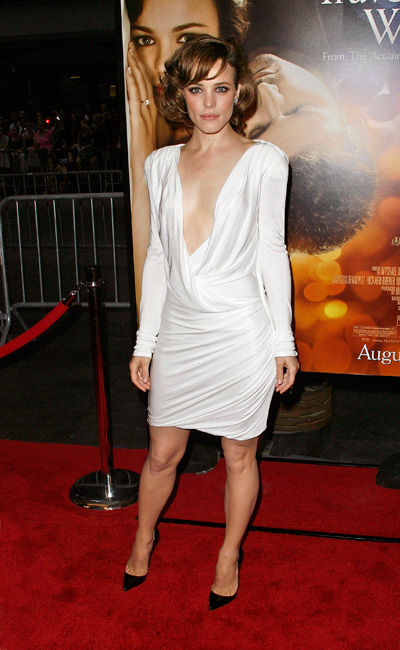 Rachel McAdams wears Emilio Pucci to the premiere of The Time Traveler's Wife