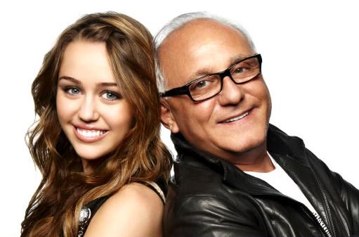 Miley Cyrus and Max Azria