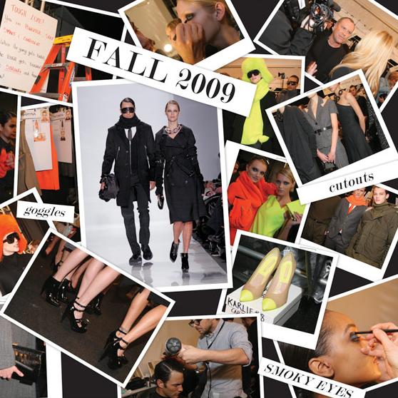 Michael Kors Fall 2009 inspiration collage