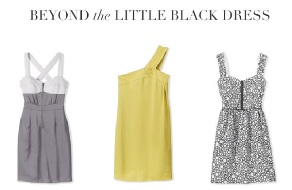 Club Monaco offers a few fun dresses in which to salute the arrival of autumn.