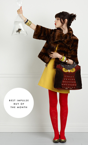 Kate Spade's clothing collection delivers fun and quirky.