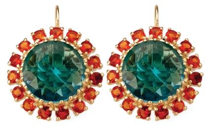 Petite Fleur charm earrings, $195