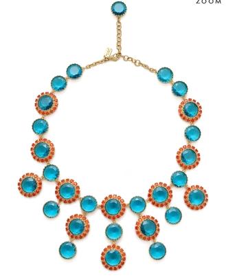 Petite Fleur charm necklace, $425